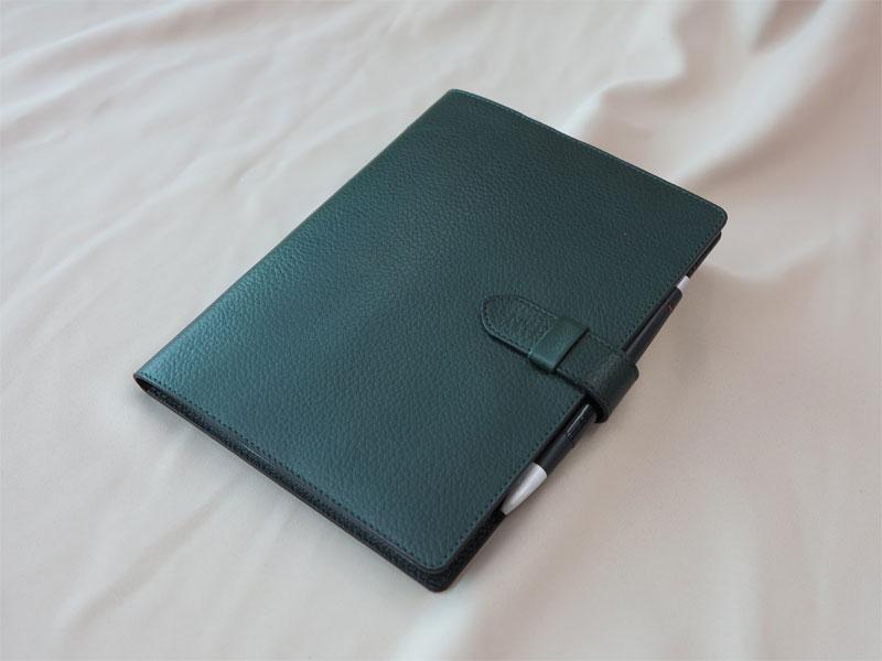 オーダーメイドのノートカバー