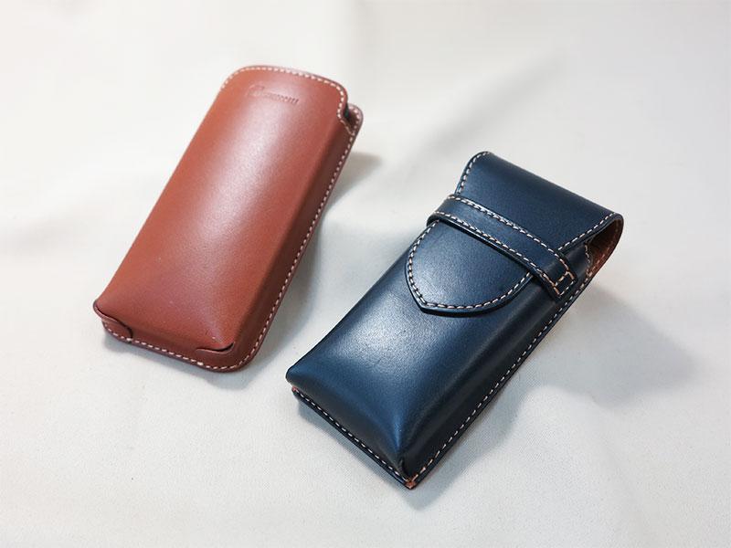 革の携帯、タブレットケース
