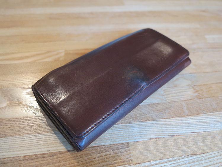 お財布の経年変化