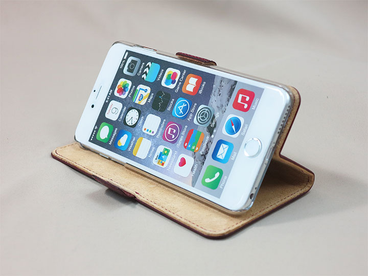 iPhone6plusスタンドケース