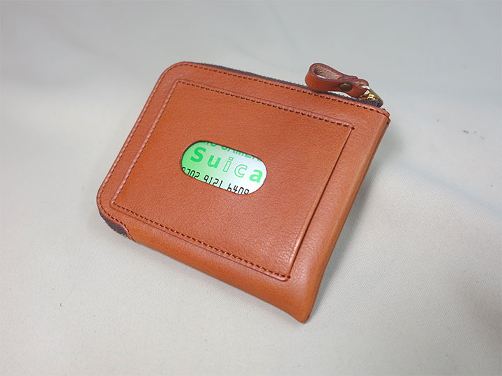 外ポケット付き財布