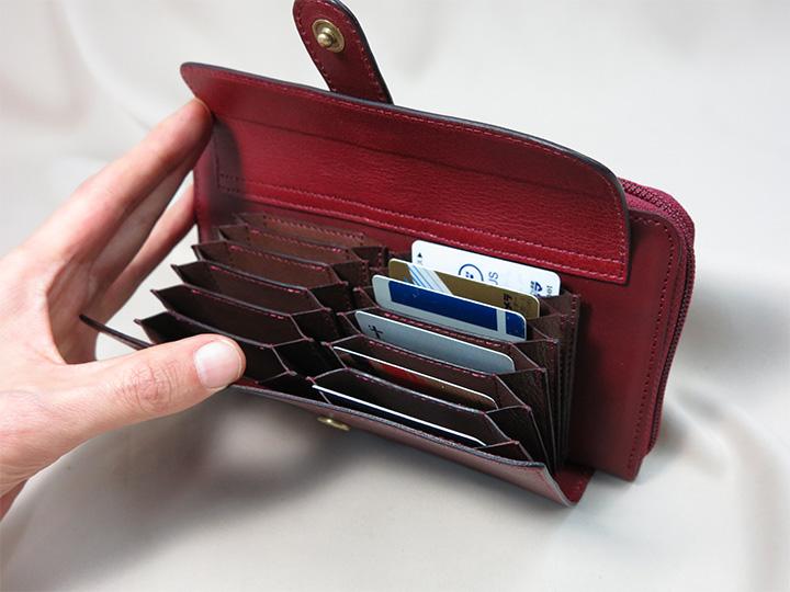ジャバラ式カードポケット