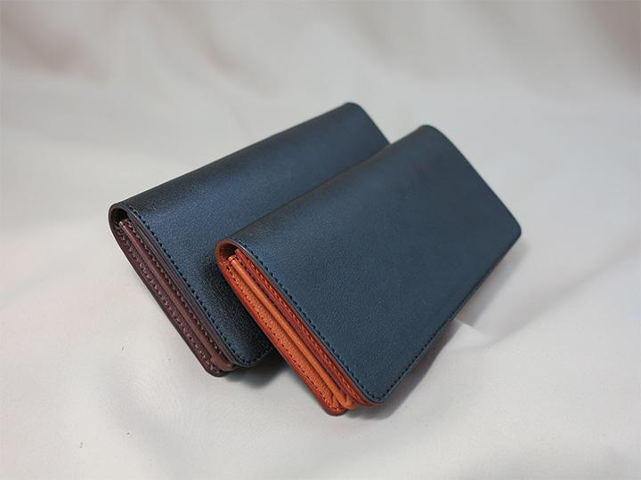 長財布2種マチ