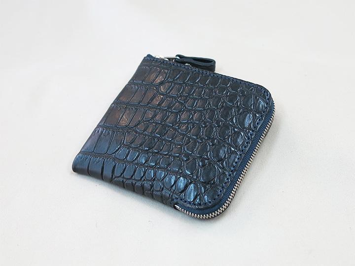 ワニ革のジーヴズ財布