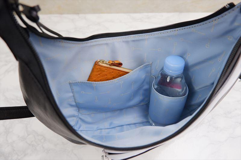 バッグの内ポケット、外ポケットなどの製作について