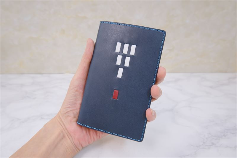胸ポケットに入れる、ミニ6穴システム手帳と財布機能のレフィルのセット 108N